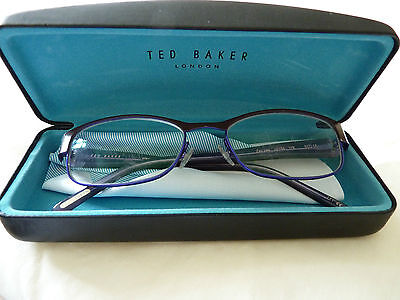 Ted Baker Purple Prescription Glasses with Black Case Included