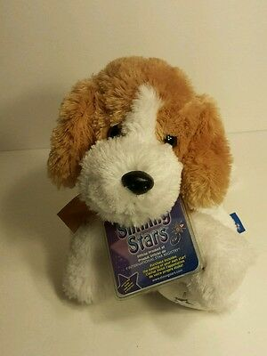 Shining Star Russ Plush Beagle Dog with Tag and Code Stuffed Animal Toy