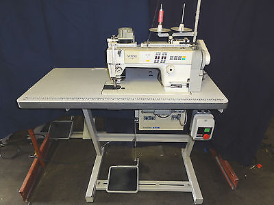 Brother 737 Exedra Single Needle Lock Stitch Industrial Sewing Machine