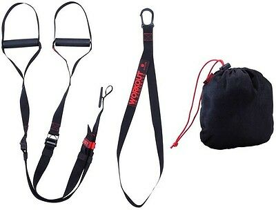 DOMYOS 100 Training Strap SUSPENSION TRAINER STRENGTH CROSSFIT HOME WORKOUT