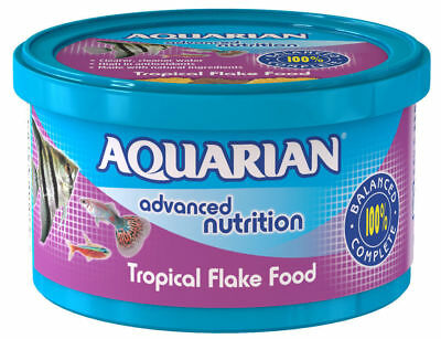 Aquarian Tropical Fish Flake 13g - Posted Today if Paid Before 1pm