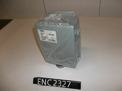 """NEW OTHER Hoffman A806CH Steel 7.25"""" x 5.25"""" x 3.5"""" Enclosure (ENC2327)"""