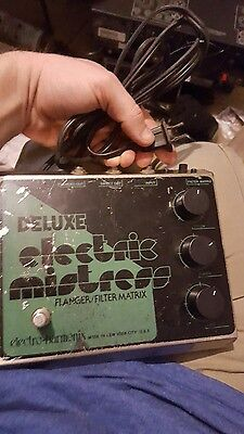 1983 RARE GREEN ELECTRO HARMONIX ELECTRIC MISTRESS FLANGER  Pedal free us s&h