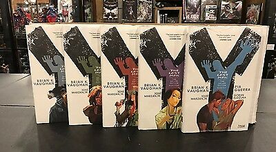Y The Last Man #1 2 3 4 5 Complete Set Graphic Novel Hc New Retail $150