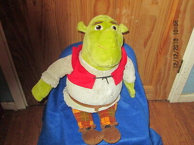 Large (approx 17.5 inches/42cm) Shrek Plush Soft Toy