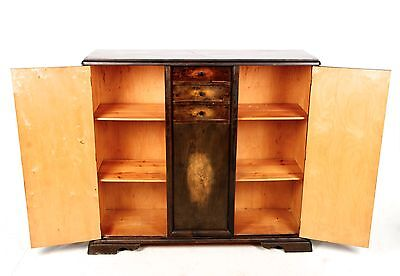 Antique Sideboard Bookcase French Walnut Highboard Credenza Fine Quality
