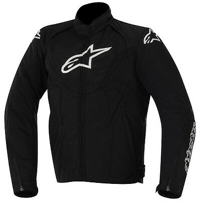 Alpinestars T-Jaws Black Waterproof Motorcycle Motorbike Jacket January Sale