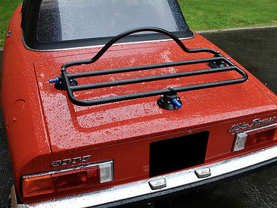 Alfa Romeo Spider Luggage Boot Rack Fits All  ; No clamps No Brackets No Damage