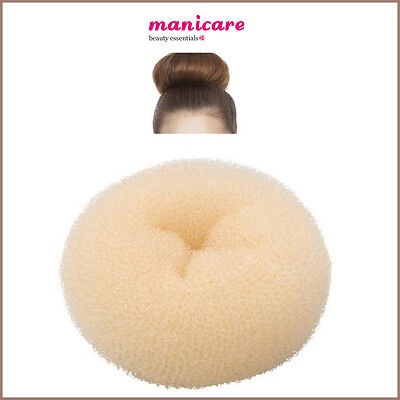 Donut Large Foam Bun Ring Shaper Hair Styler Top Salon Fashion BLONDE Magic Tool