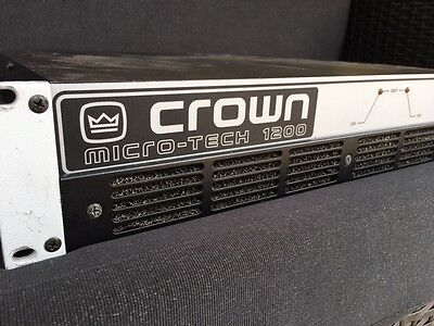 Crown Mt 1200 Amplificateur
