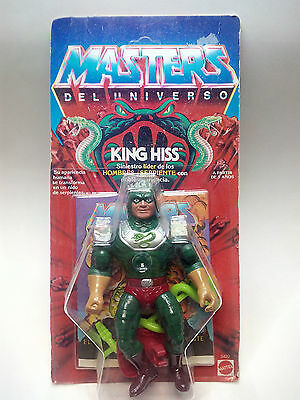 Masters Del Universo - King Hiss - Motu - Moc- Spanish - New- Sealed