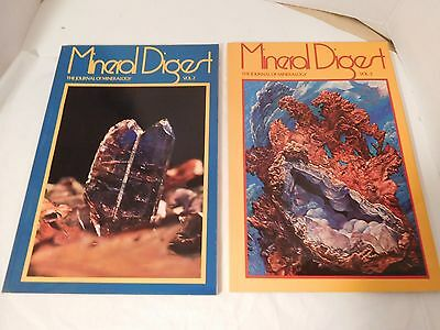 Journal of Mineralogy by Mineral Digest Vols 2 & 3 Hard to Find