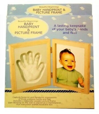Baby Hand and Foot Print Plaster Moulding Casting mould kit Keepsake Gift New