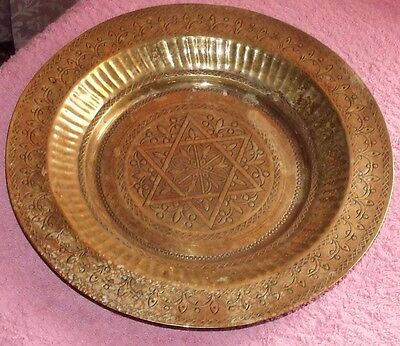 Vintage Brass Wall Plate