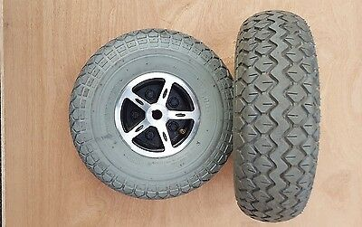 Rascal P327 Tyres 4.00-5 For Electric Mobility Powerchair, Wheelchair / Scooter