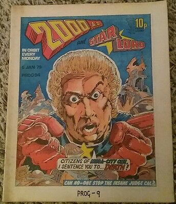 2000AD Comic Prog 94 from 6 Jan 1979