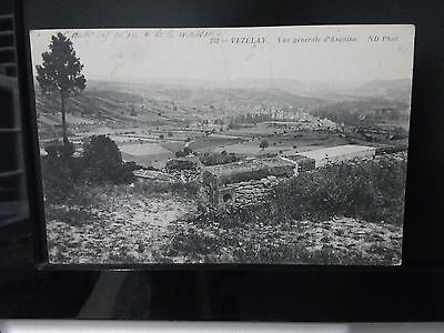 Cpa vezelay vue generale d asquins ND phot l 89 yonne