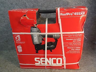 *BRAND NEW* Senco RoofPro 455XP Coil-Fed Pneumatic Roofing Nailer