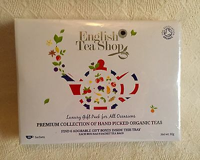 English Tea Shop Organic Premium Collection 48 Bags. Brand New. Ideal Gift.