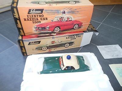 Reproduction Schuco Mercedes Police Car - New In Box