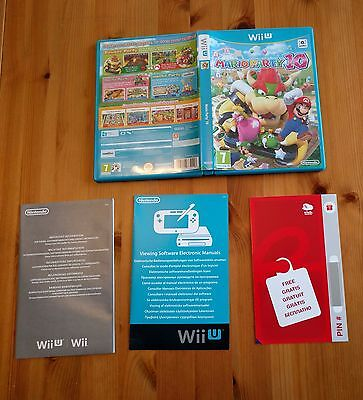 Mario Party 10 Replacement Case ONLY - NO GAME Nintendo Wii U