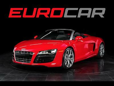 2012 Audi R8  Audi R8 5.2 quattro Spyder, HIGHLY OPTIONED, IMPECCABLE CONDITION