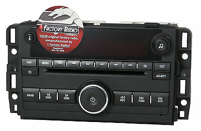 Remanufacture SERVICE for GMC Acadia 2009-11 AM FM MP3 CD Radio Plastic Chassis