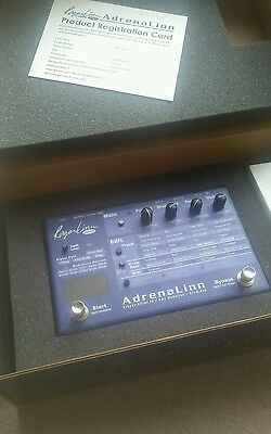 Roger Linn Adrenalinn Groove Filter FX / Amp Modeling / Drum Box NEW