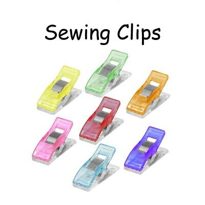 50 Wonder Clips / Sewing Quilting Clips / Binding Clips / Craft Clips / Pins