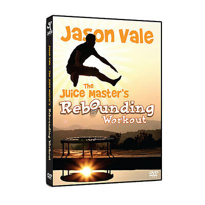 Juice Master Rebound DVD, Workouts to use on your rebounder, mini trampoline