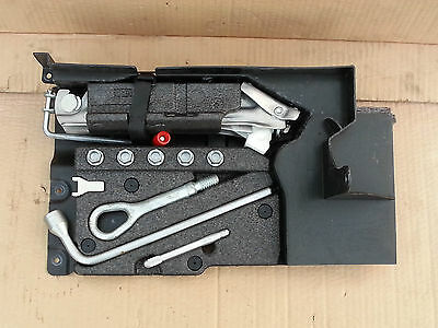 Mercedes C Class W203 2000 - 2007 Tool Kit Holder With Tools... A2038900061
