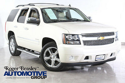 2013 Chevrolet Tahoe LTZ SUV  2013 CHEVROLET TAHOE LTZ NAV LEATHER ENTERTAINMENT REAR CAM BOSE SUNROOF 3RD ROW