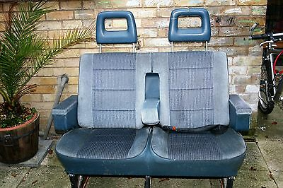 Van double seats