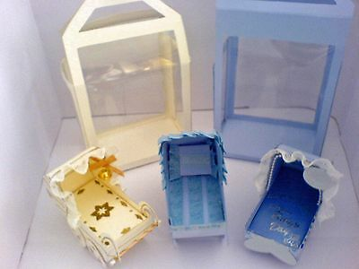 Baby Collection Template Patterns CD 3D Cot  Mug, Pram Display Boxes plus more