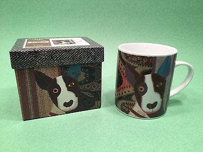 Magpie Carola Van Dyke MR BULL TERRIER Mug in Decorative Box - New Free Ship