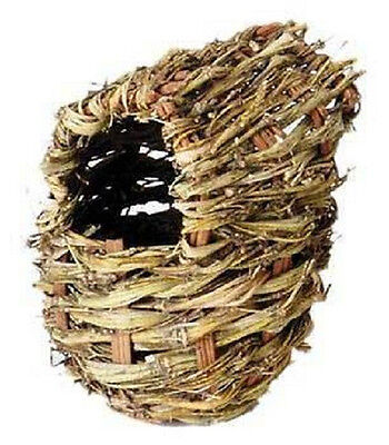 Prevue Keet Lg Twig Covered Nest Parakeet Bird Great For Breeding Free Ship Usa
