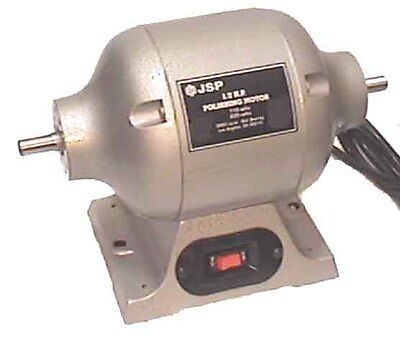 1/2 HP LATHE POLISHING MOTOR complete with 2 tapered spindles (dc55)