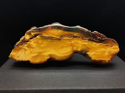 26,5g Old Rare Baltic Amber Brooch Yellow White Marble Tiger style Bernstein 琥珀色