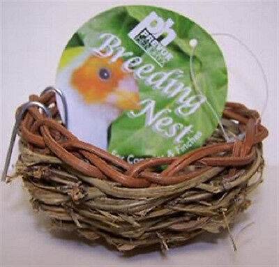 "Prevue Canary Twig Nest 3"" Bed Bird Great For Breeding Free Ship In The Usa"