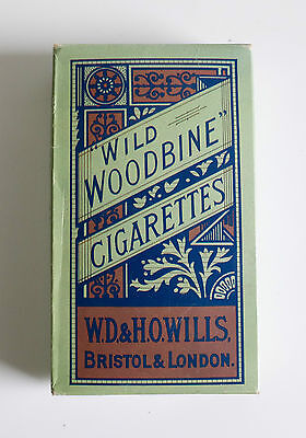 Two Vintage Wild Woodbine Cigarette Branded White Handkerchiefs in Pack
