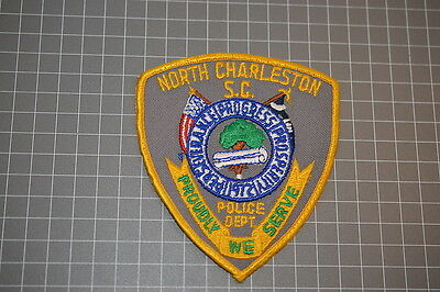 Old North Charleston Police Department South Carolina Patch (B17)