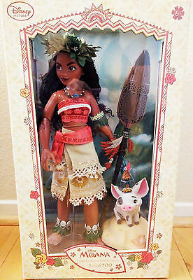 Disney Moana Collectors Limited Edition Set of 6500 Doll - 16 ""