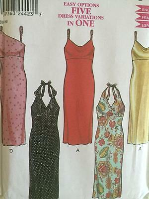 New Look Sewing Pattern 6035  Misses Ladies Dress Size 8-18 Uncut