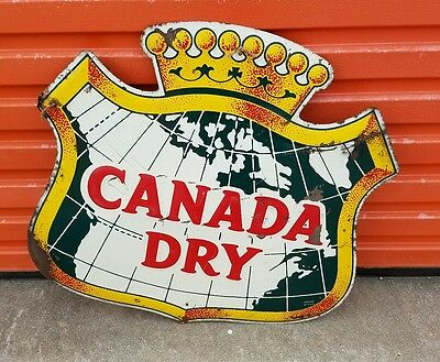 Large Canada Dry Shield Sign