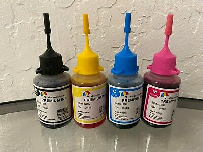 4x30ml refill ink for Epson 69 T69 WorkForce 30 40 500 600 610 615 1100