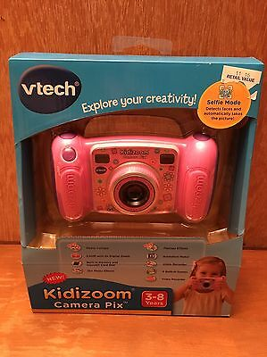VTech Kidizoom Camera Connect for Kids-  Pink - New In Box!