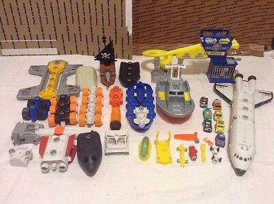 Matchbox Lot, Mbx- Space Shuttle, Big Boots Police, Pirate Ship