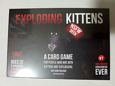 Exploding Kittens CARD GAME - NSFW Edition - Aussie Version
