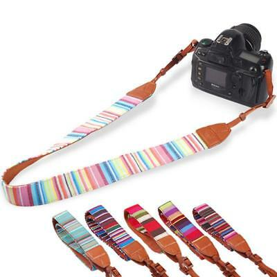 New Camera Shoulder Neck Belt Strap For SLR DSLR Canon Nikon Sony Panasonic