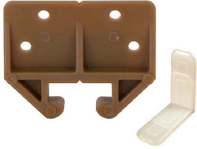 Prime Line Products 22315 7/8-In. Brown Drawer Track Guide